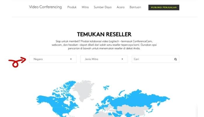 partner resmi logitech